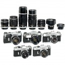 Lot Canon SLR Camera with Lense