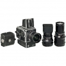 3 Zeiss Lenses for Hasselblad, 500EL/M