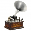 滚筒留声机The Columbia Graphophone, Model BV    1908年
