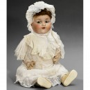 Large Bisque Baby Doll by Armand Marseille      1925年前后