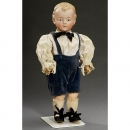 Bisque Character Boy Doll by Swaine & Co.     1912年前后