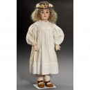 Large Bisque Child Doll by Kestner      1900年前后