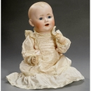 Bisque Baby Doll by Kestner     1912年前后