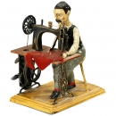 Man at Sewing Machine Günthermann     1910年前后