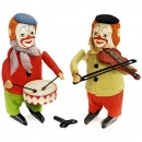 2 Schuco Dance Figures
