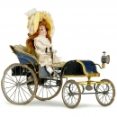 Horseless Carriage with Doll (Vichy)    1895年前后