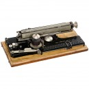 Picht指数打字机 (German Index Typewriter 'Picht')