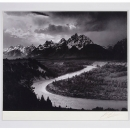 Ansel Adams:Grand Teton 国家公园Wyoming 1942年