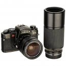Leica R5 with 2 Zoom Lenses