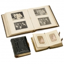 3 Leather Photographic Albums