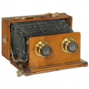 Stereo Folding Plate Camera, c. 1890