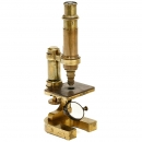Early Leitz Brass Microscope, 1879