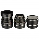 2 Leica-R Lenses and Extender-R 2x