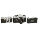 2 Leica Cameras and Film Printer