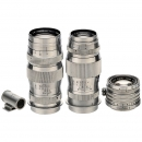 3 Nikon and Canon Screw-Mount Lenses