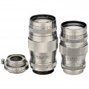 3 Canon Screw-Mount Lenses