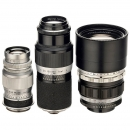 3 Lenses for Screw-Mount Leica