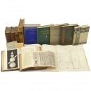 Group of Scientific Books and Sales Catalogs, from 1835