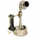 American Candlestick Telephone by De Veau, c. 1905