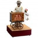 Contemporary Electric Organ-Grinder Automaton