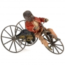Champion Velocipede Automaton with Black Rider by Stevens & Br