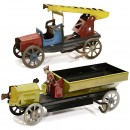 2 Penny Toy Cars, c. 1915