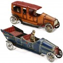 2 Penny Toy Cars, c. 1925