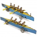 2 Penny Toy Rowing Boats, c. 1925