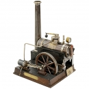 Valve Control Steam Engine by Schoenner, c. 1910