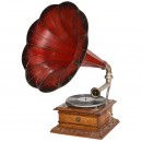 French Art-Nouveau Gramophone Discophone