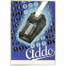 Original Calculator Poster Addo, 1935