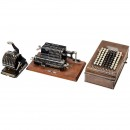 2 Calculating Machines and a Checkwriter