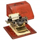 Junior Gescha Tin Toy Typewriter, 1930