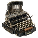 North's Typewriter, 1892
