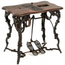 Victorian Florence Sewing Machine Table, 1885