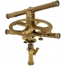 Full-Circle Double Telescope Theodolite by Beaulieu, c. 1850