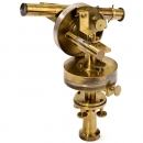 French Miniature Theodolite, c. 1850