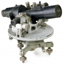 Heavy Microscope Theodolite by Huet, Paris, c. 1930