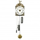 Small French Comtoise Clock, c. 1870