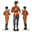 3 German Fairground Organ Figures