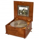 Table-Top Style 47 Polyphon Disc Musical Box