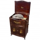 18 ½ in. Mira Console Disc Musical Box, c. 1900