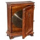 Upright Polyphon 15 ½ in. Disc Musical Box