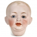 Bisque Character Doll Socket Head by Kestner, c. 1910