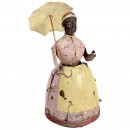 Günthermann Black Lady with Umbrella, c. 1900