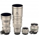 4 Exakta Lenses by Steinheil