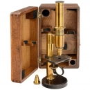 Rare and Early Microscope by C. Kellner's Nachf.: Fr. Bethle in
