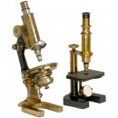 2 Microscopes by Thate and Reichert