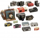 Lot of Subminiature Cameras and More