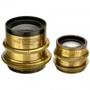 Brass Lenses by Voigtländer and Rodenstock